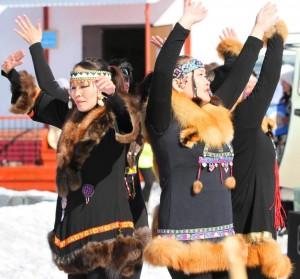 Выступление коллектива из села Анюйск