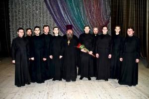 Хор Подворья Свято-Троицкой Сергиевой Лавры в Билибино 1