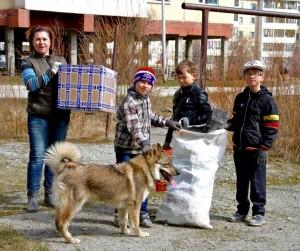 Жители микрорайона Арктики